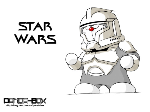 doraemon - star wars