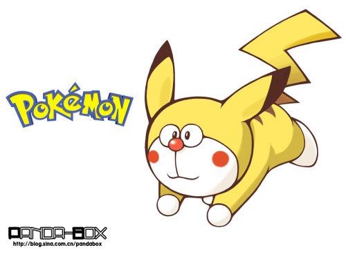 doraemon - pokemon - pikachu