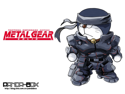 doraemon - metal gear solid