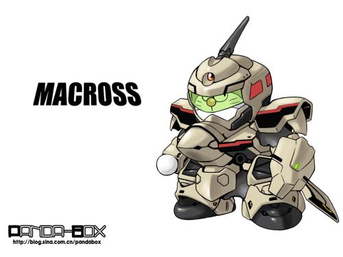 doraemon - macross