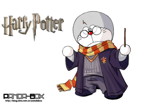 doraemon - harry potter