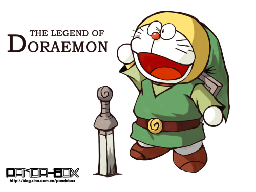 doraemon - the legend of zelda