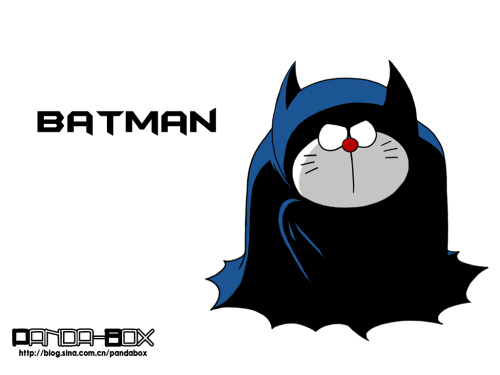 doraemon - batman