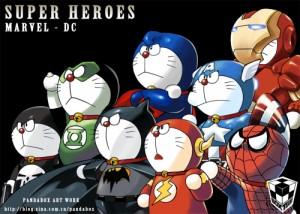 doraemon - super heroes